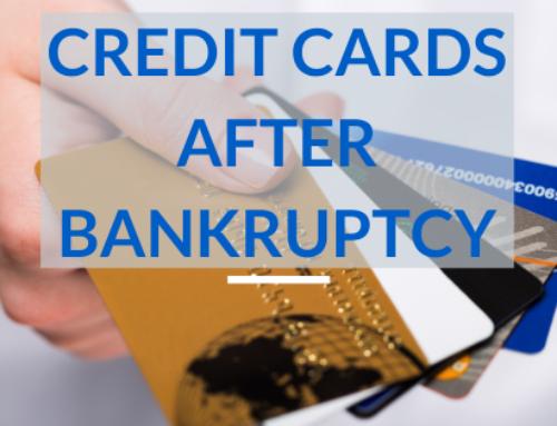 Credit Cards After Bankruptcy Solved