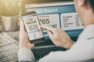 Credit Score Intended to Measure