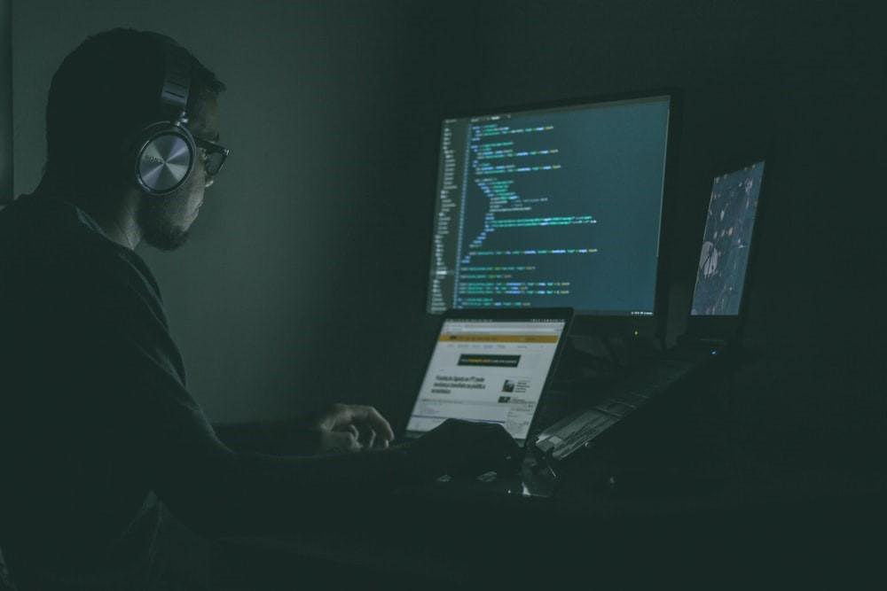 Hacker on work