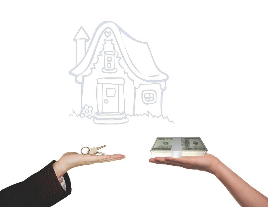 Home buyer seller concept